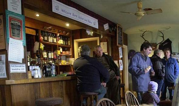 The Old Forge in Knoydart, Scotland is the most remote in the country, forcing authorities to have to rent a boat to come and seize its owner's cherished hunting tools. (Photo: Express.uk)