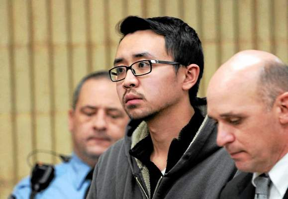 William Dong, 23, a student at the University of New Haven in Connecticut plead guilty to having two handguns on campus and a charge under the state's new assault weapon ban for a rifle in his SUV. (Photo: AP)
