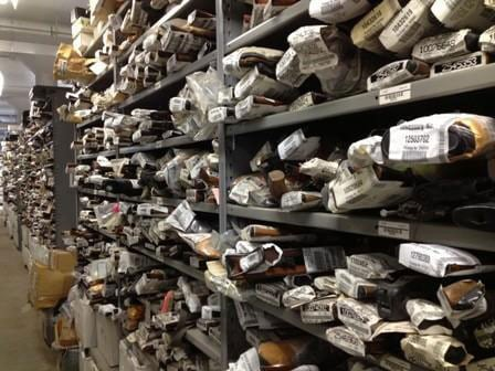 A peek inside the gun vault of the Chicago Police Department. (Photo: Fox)