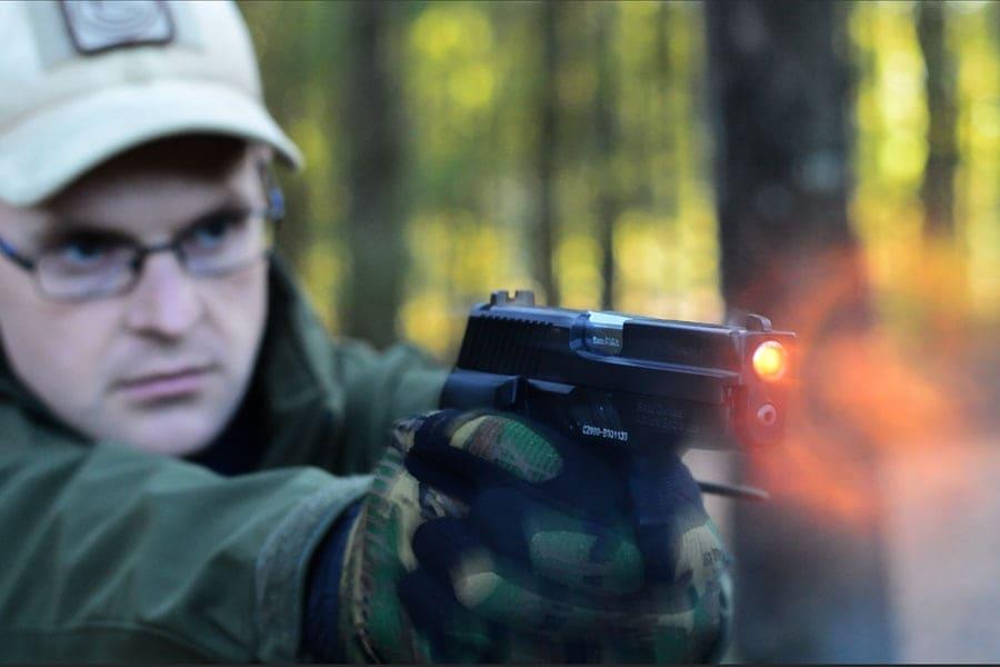 CZ999 recoil