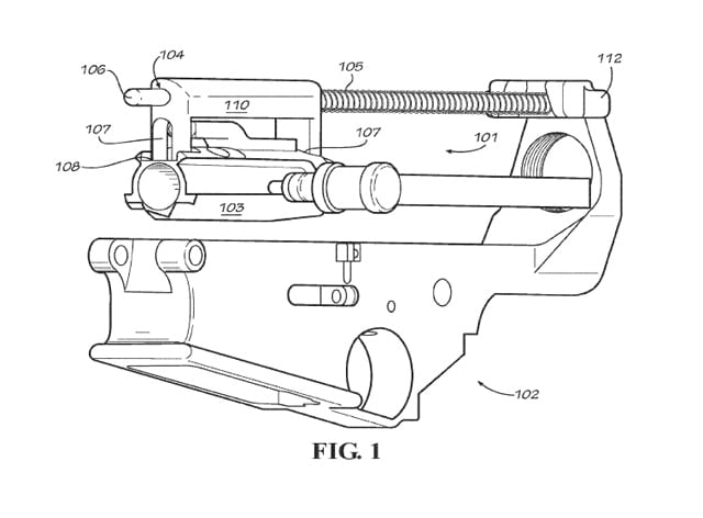 DRD Tactical's patented design.