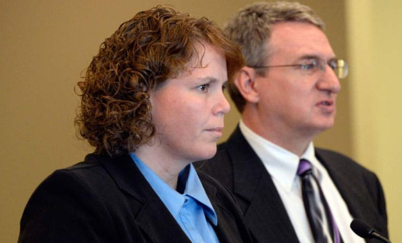 Although she was cleared by the school to come back to work, Michelle Ferguson-Montgomery submitted her resignation after the charges were filed. (Photo: The Salt Lake Tribune)