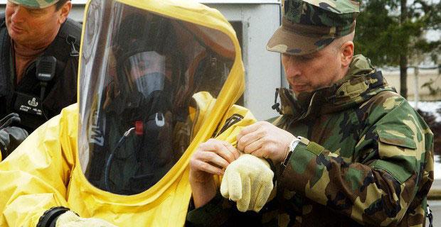 personal protective gear ebola