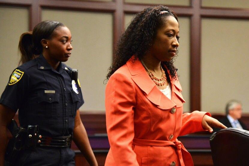 Marissa Alexander in court