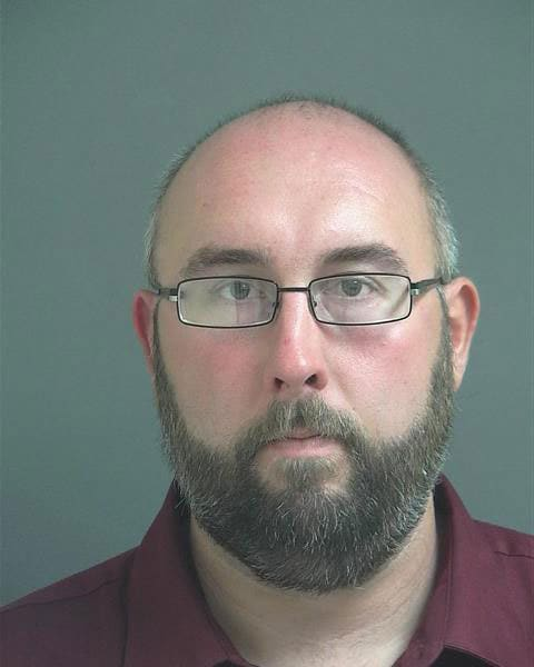 David McLaughin, a letter carrier for the United States Postal Service, said he will never own guns again. (Photo: Jay County Sheriff's Department)