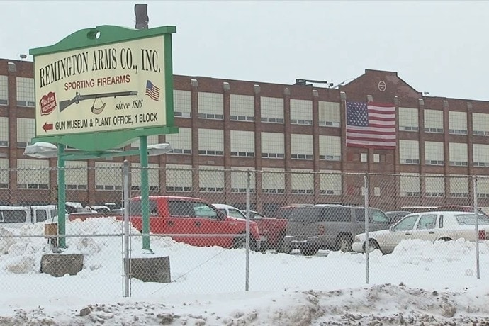Remington Arms historic plant in Ilion, New York is shedding another 126 workers. (Photo ABC 9)