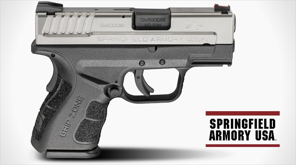 XD pistol gets a shot in the arm; New Springfield XD Mod.2 design