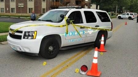 Ferguson crime scene