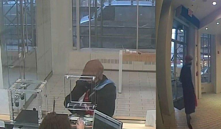 HSBC Bank robber