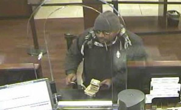 Wanted for a Dec. 9 robbery of a Chase Bank in Queens, NY, this suspect is described as approximately 5' 9'' tall, chubby build, possibility Dominican, and in his 30s. (Photo: FBI)