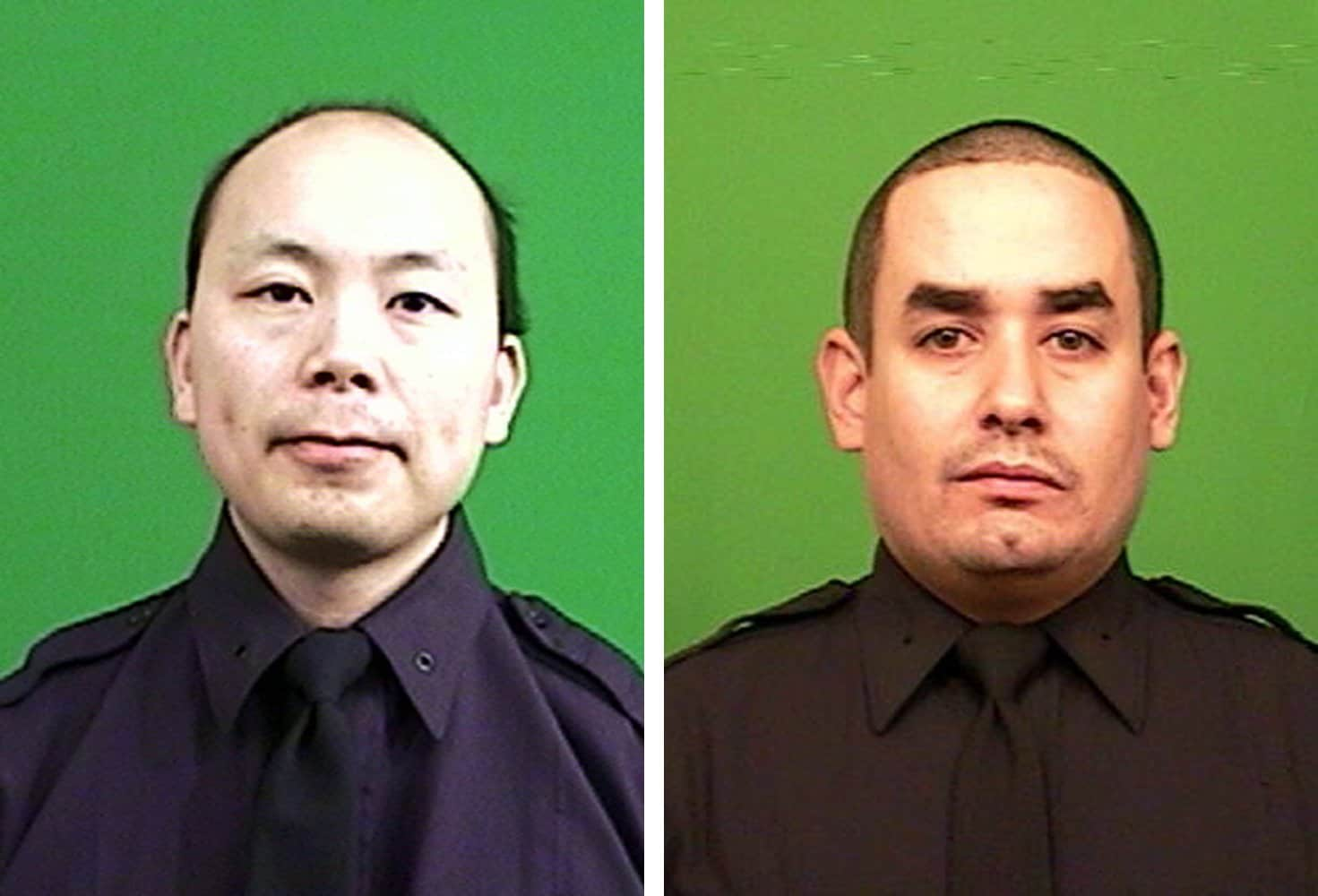 The brutal ambush of NYPD Officers Wenjian Liu (L) and Rafael Ramos (R) last month grotesquely displayed the dangerous strain between police officers and the public.