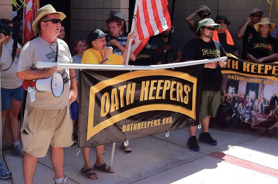 oath keepers protest