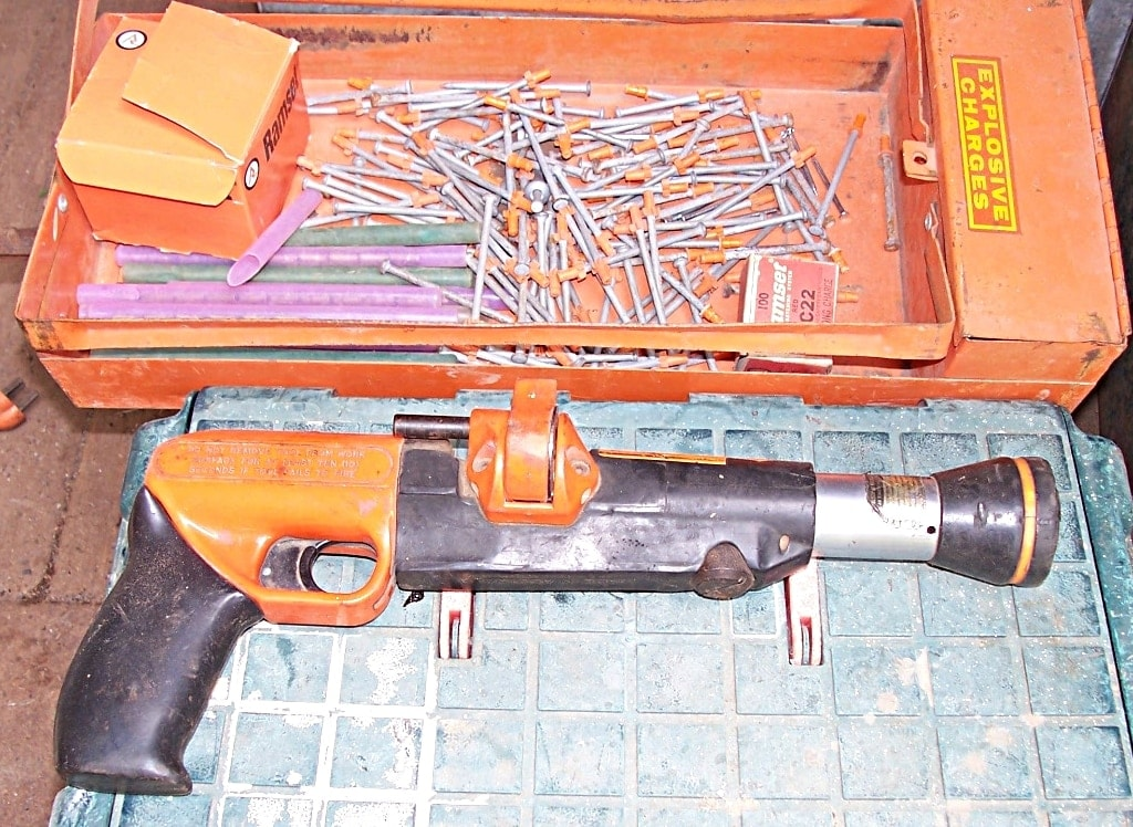 Will you have to get a background check if you borrow a friend's powder-actuated tool in Washington State after December 4? (Photo: Wiki)
