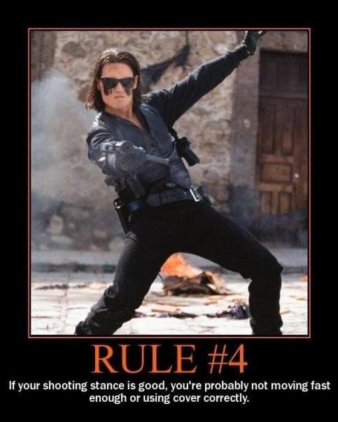 20 Rules For Winning Gun Fights