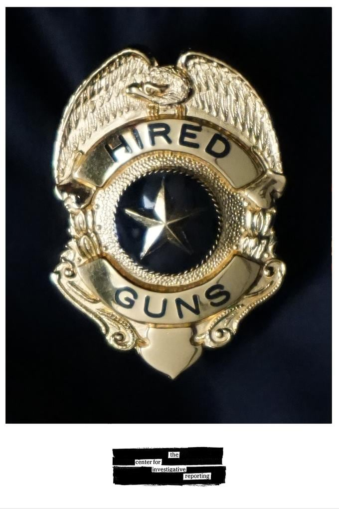 Armed security guards often put themselves and others at risk, an investigative report found. (Credit: Center for Investigative Reporting)