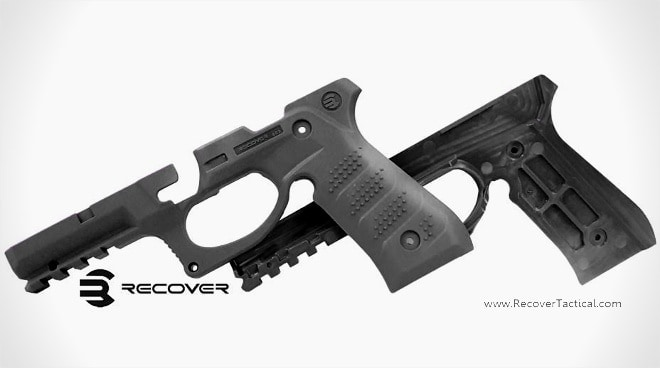 New Recover Tactical grips for Beretta pistols adds rail (VIDEO)