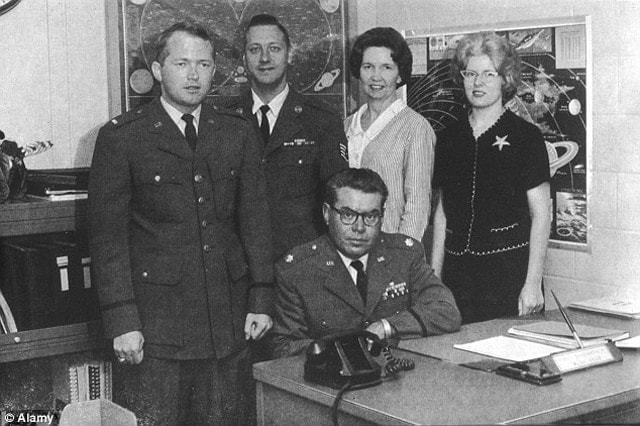 """Staff members of """"Project Blue Book."""""""