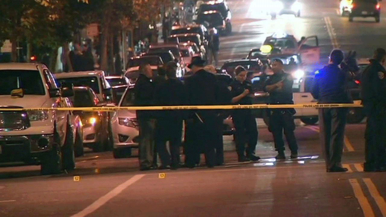 Authorities said Hoffman had stopped officers earlier in the day and questioned them about the type of gun they carry, the ammunition they use and whether the officers had ever shot anybody in the line of duty. (Photo: ABC)