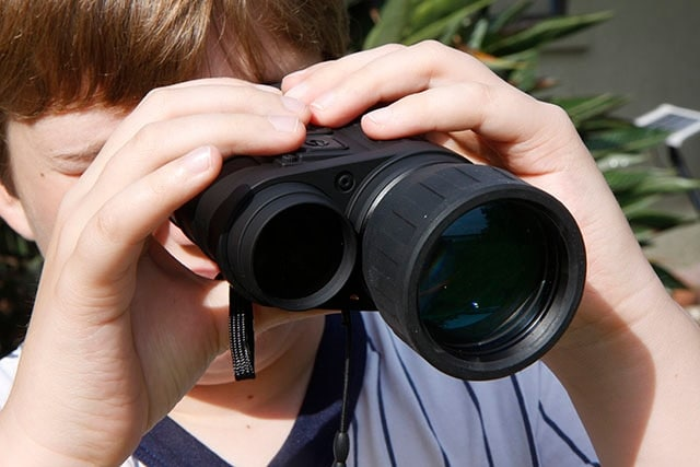 While not gigantic, the Bushnell Equinox doesn't easily fit into a pocket (Photo: J.H. Marion)