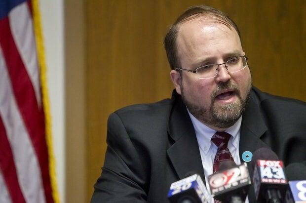 Harrisburg Mayor Eric Papenfuse