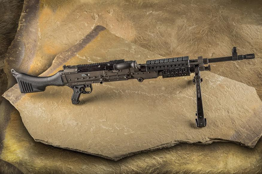 The M240 by FN America and used by the U.S. military. (Photo: FN America)