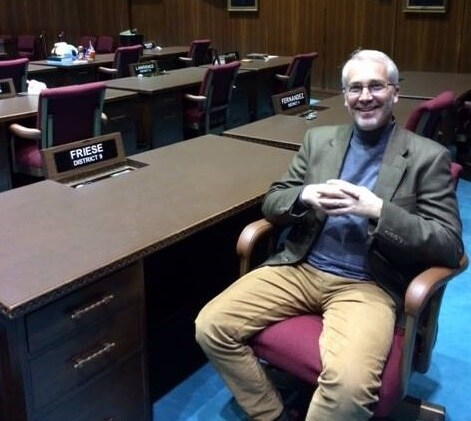Arizona Rep. Randall Friese (D) wants to end private gun sales without a background check and place limits on gun use by those under 14. (Photo: Facebook)