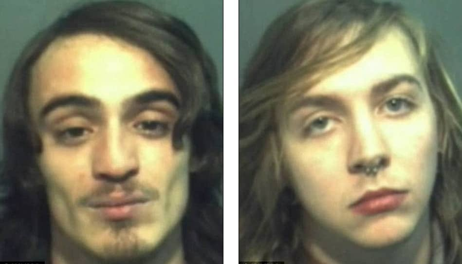 Stephen Page (left) and Cory Gathings (right) were charged with aggravated assault. (Photo: WKMG)