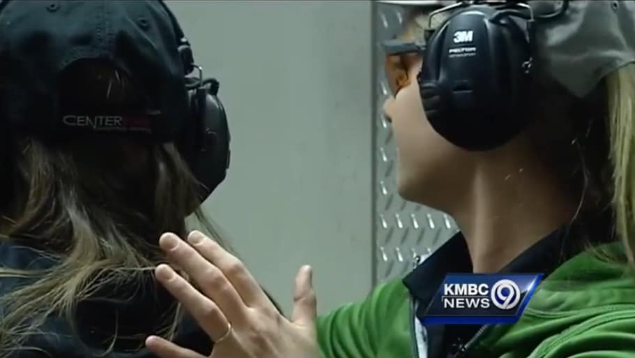 The incident has left some women picking up a pistol for the very first time. (Photo: KMBC)