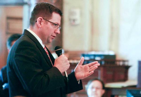 Kansas Senate Majority Leader Terry Bruce