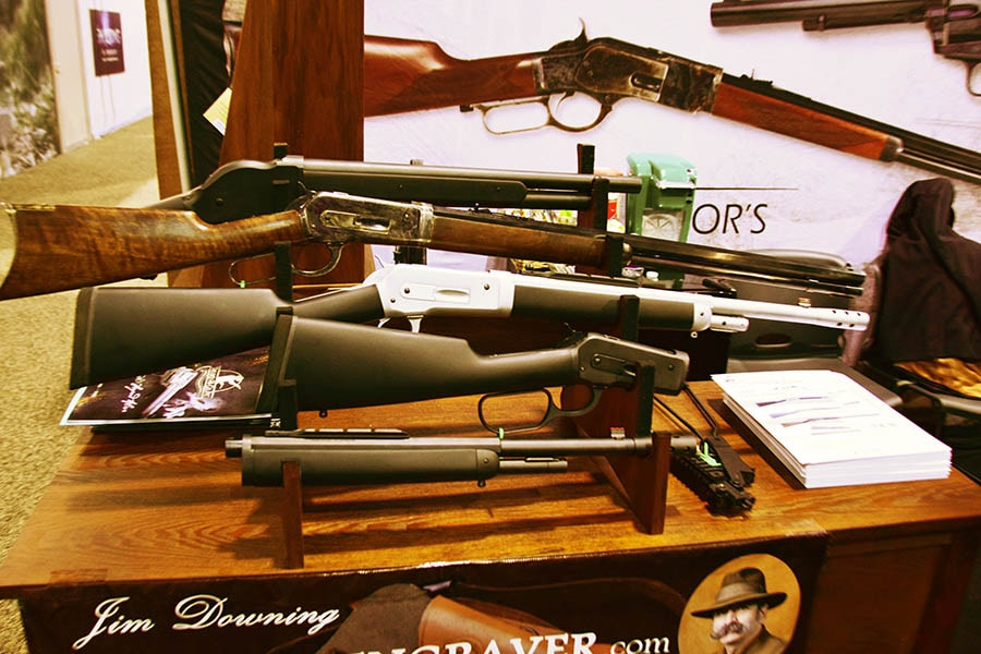 Taylor and Co scout rifle