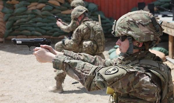 US Army Soldier 9mm Beretta M9