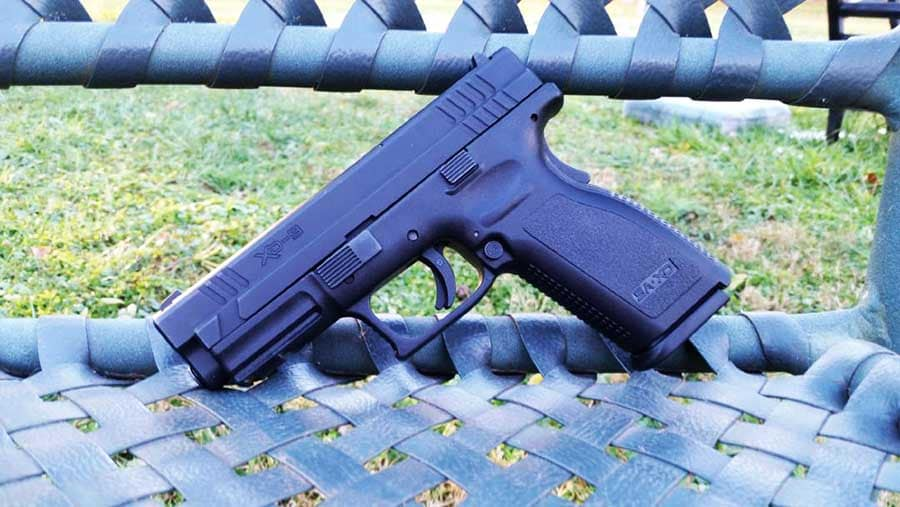 The Springfield XD is an affordable, easy-shooting accurate pistol that new shooters can easily learn on (Photo: Joshua Gillem)