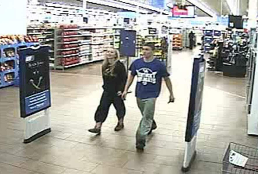 Video surveillance at a South Carolina Walmart captured images of the teens. (Photo: Grayson County Sheriff's Department)