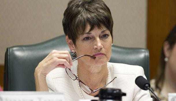 """Texas state Sen. Donna Campbell (R) wants to see fewer """"no guns allowed"""" signs in public buildings. (Photo: Texas Monthly)"""