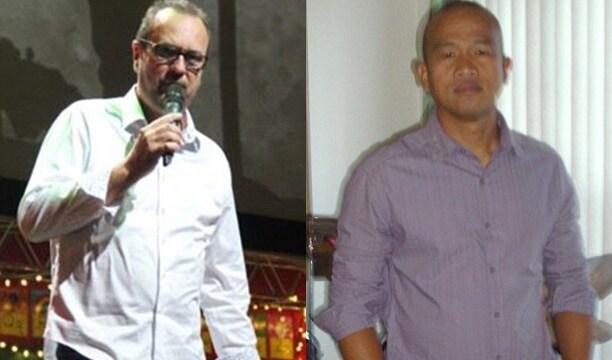 Pastor Terry L. Howell, 61, left, and Benjamin Parangan Jr., 47. (Photos: Daily Mail/Facebook)