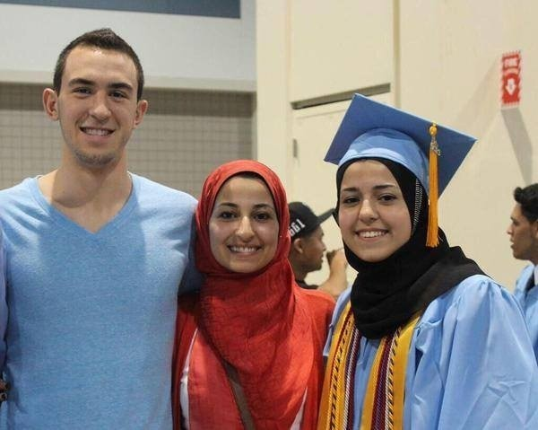 Craig Stephen Hicks is charged in the shooting death of three Muslim college students in Chappel Hill, North Carolina.