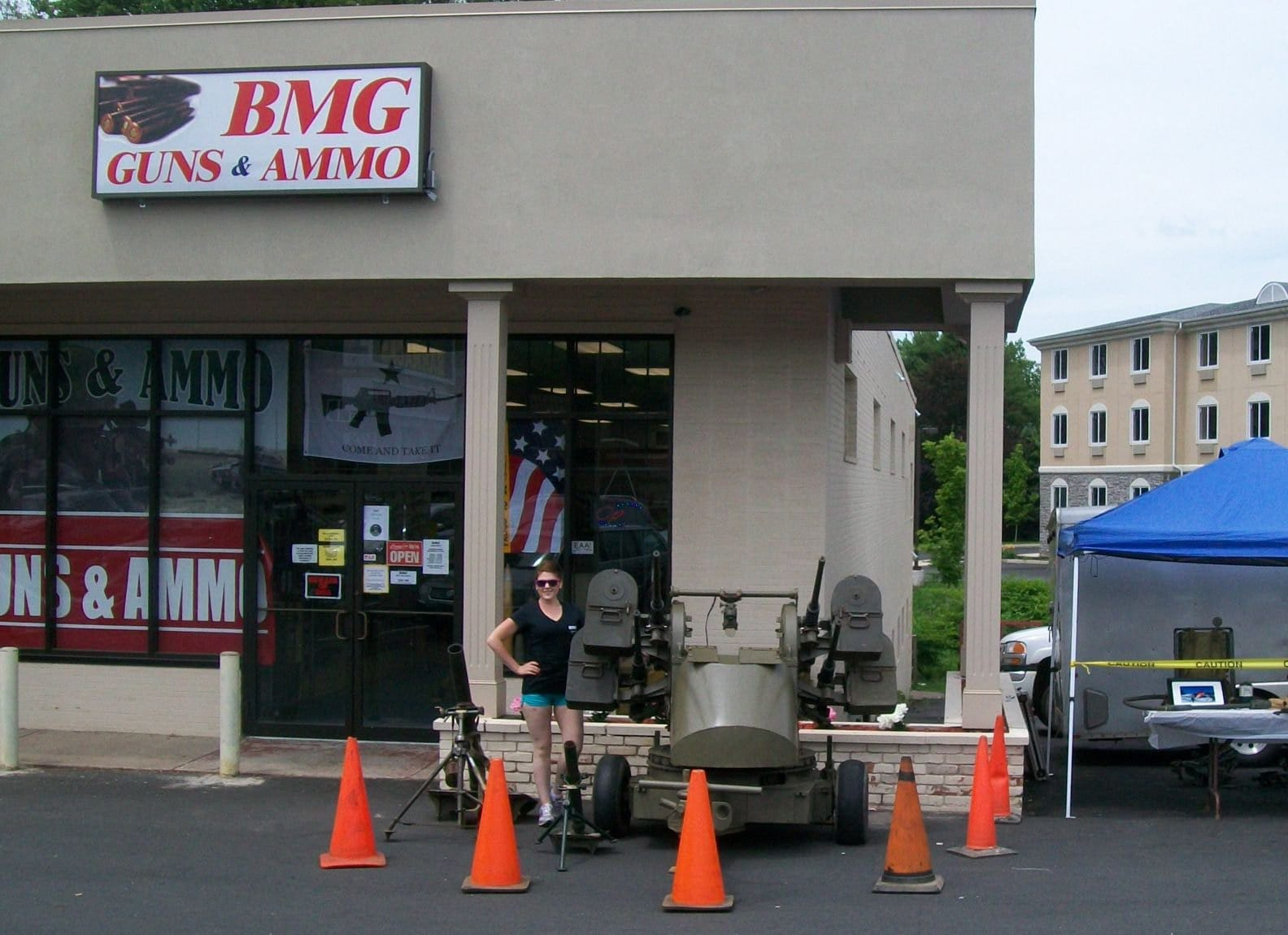 After four years of business, BMG Guns and Ammo closed its doors. (Photo: Facebook)