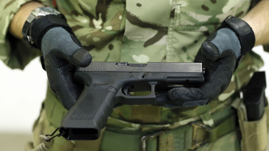 uk military Glock 17