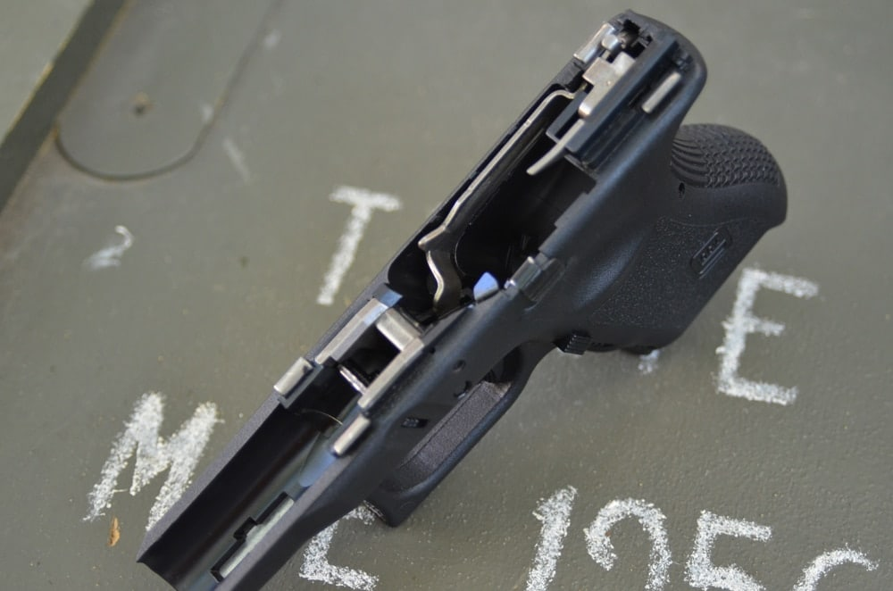 Easy maintenance and easily replaceable internals make the Glock 26 a pistol you can depend on for the long haul. (Photo: Kenny Hatten)