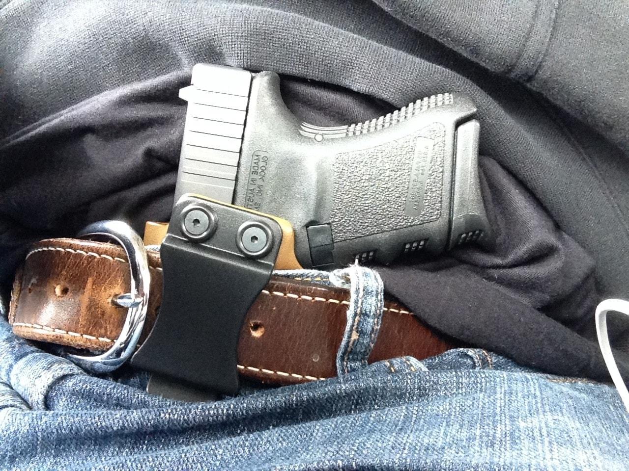 concealing glock 29