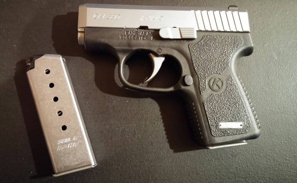 The Kahr CW380: A pocket pistol for gorilla hands