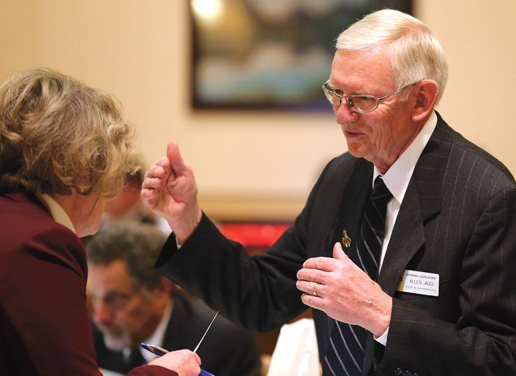 Rep. Allen Jaggi, R-Lyman, saw his legislation to strike down gun free zones across Wyoming gain an easy victory in the state House this week. (Photo: Wyoming News.com)