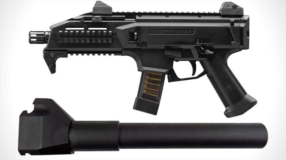 cz scorpion evo 3 s1 buffer tube adapter