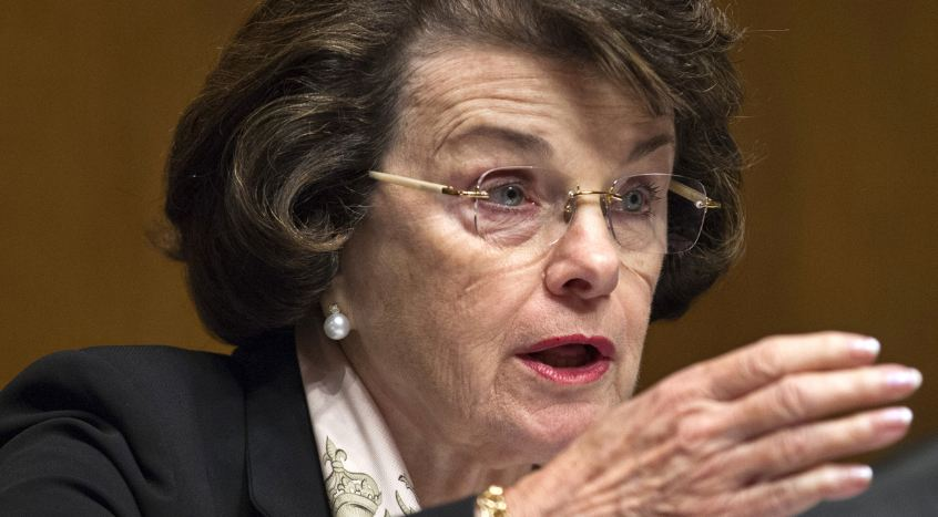 """California Sen. Dianne Feinstein along with a virtual """"who's who"""" of anti-gun lawmakers are proposing to give the DOJ increased powers to deny gun transfers based on classified terror watch lists. (Photo: AP)"""