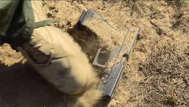 dirty glock still fires