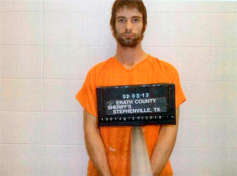 "Eddie Ray Routh has been accused of capital murder in the shooting deaths of ""American Sniper"" Chris Kyle and Chad Littlefield. (Photo: Erath County Sheriffs Department)"