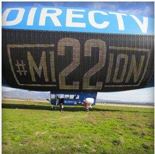 directtv blimp mission 22