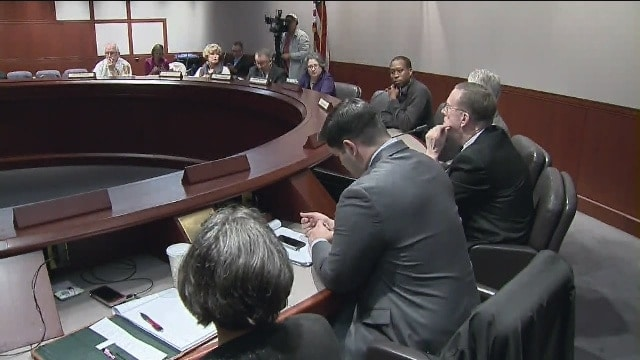 The 16-member Sandy Hook Advisory Commission is working on their final report of recommendations to the Governor, which includes a number of extreme gun control measures. (Photo: WTNH)