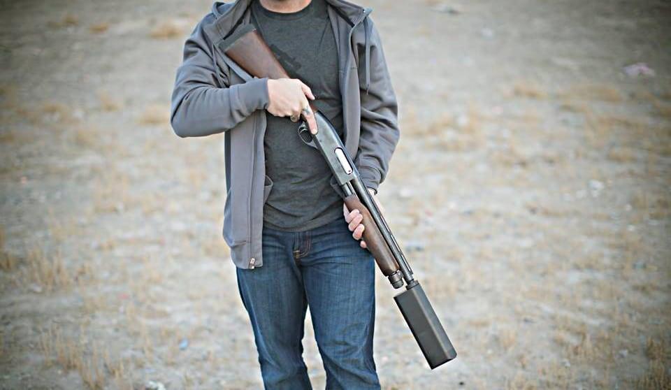 suppressed pump shotgun sbr