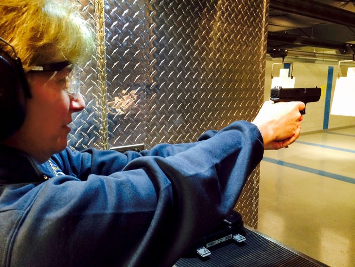 Deborah Buzby-Cope, mayor of Bass River Township, New Jersey, wants to bring gun safety training to students across the state. (Photo: Stephanie Loder/Press of Atlantic City)